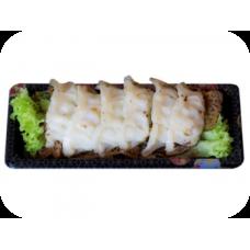 Japanische Gyoza – Teigtaschen mit Gemüse und Hähnchen (6 St.) (Liefer.)