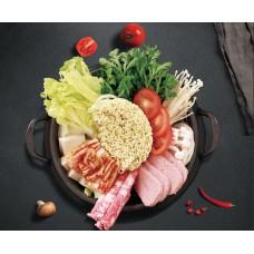 Sukiyaki Kimichi Gemüse Topf (Liefer.)