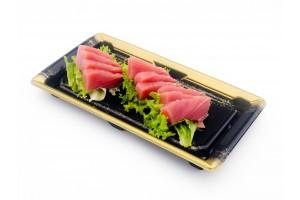 Thunfisch Sashimi (10 Stück). (Lief.)